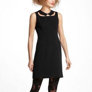 ANTHROPOLOGIE Sheath Cut Out Sleeveless Dress